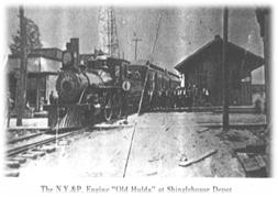 Shinglehouse Train Depot